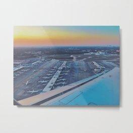 Technicolor Departure Metal Print