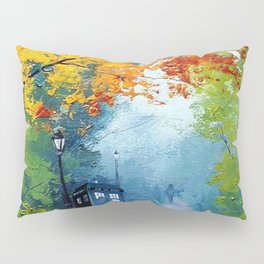 Tardis Painting Pillow Sham