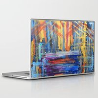 lovers Laptop & iPad Skins featuring Lovers by Pluto00Art / Robin Brennan