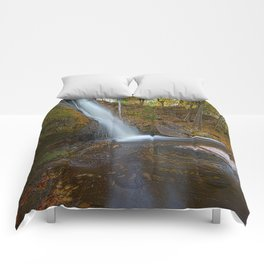Autumn at Hungarian Falls Comforters