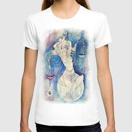 Goddess of Libra - An Air Element T-shirt