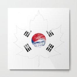 Korea/Canada Metal Print