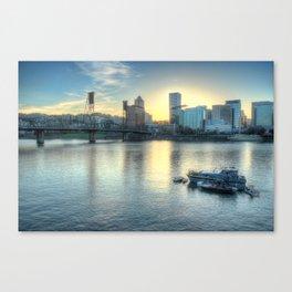 Portland Evening Canvas Print