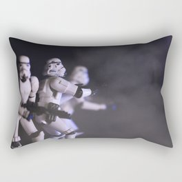 Only Imperial Stormtroopers are so precise Rectangular Pillow