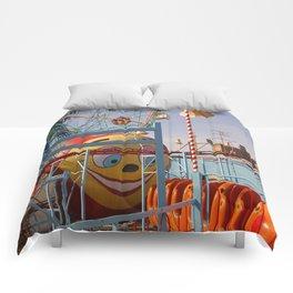 coney island fairground Comforters