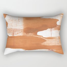 Peru hand-drawn wash drawing texture Rectangular Pillow