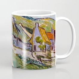 """Vincent van Gogh """"Cottages"""" Coffee Mug"""
