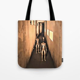 They Come in Peace Tote Bag