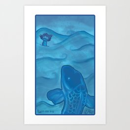 Jonas Art Print