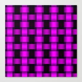 Ultra Violet Basket Canvas Print