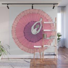 Pink Ballerina Wall Mural