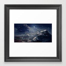 Andromeda Bound Framed Art Print