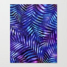 Violet jungle vibes Canvas Print