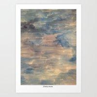 Free Lines Art Print