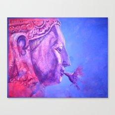 Buddha Kiss (Original) Canvas Print
