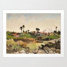 Pima Canyon Art Print