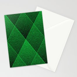 Plush Kelly Green Diamond Stationery Cards