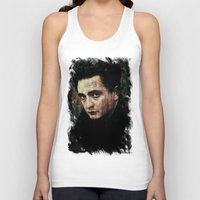 johnny cash Tank Tops featuring Cash by Sirenphotos