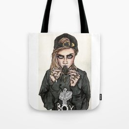 Cara Delevingne x Terry Richardson Tote Bag