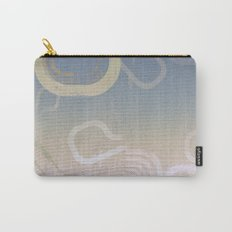 Modern Grunge Ombre Carry-All Pouch