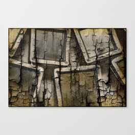 Cracked Mirrors Canvas Print