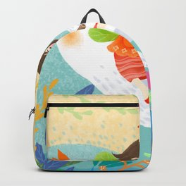 Mysterious Music Girl Backpack