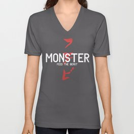 Monster Unisex V-Neck