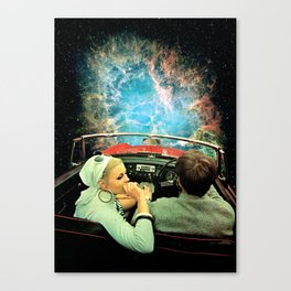 Space Riders Canvas Print