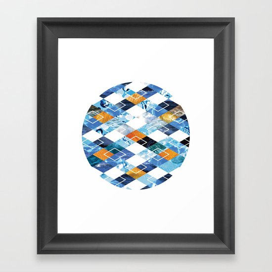 Argyle Aquarium Framed Art Print