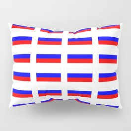 Flag of russia 2 -rus,ussr,Russian,Росси́я,Moscow,Saint Petersburg,Dostoyevsky,chess Pillow Sham