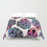 diamond Duvet Covers featuring Diamond by Hamburger Hands