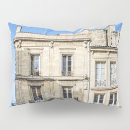 Old building in  Bordeaux Pillow Sham