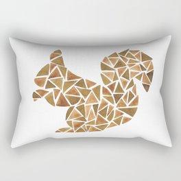 Geometric squirrel Rectangular Pillow