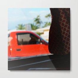 #jimmy`s diner- miami---still life by Jay Hops - indoor streetart Metal Print