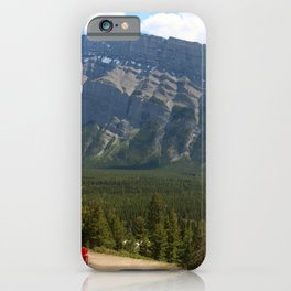 Enjoying The Beautiful View iPhone Case