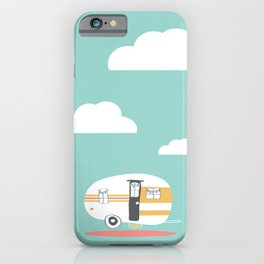 Lets See Really Cool Stuff Together Airstream Art iPhone Case