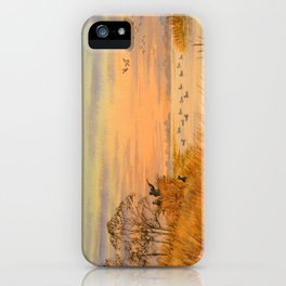 Duck Hunters Calling iPhone Case
