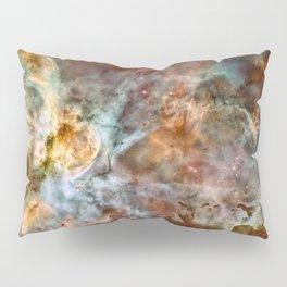 Carina Nebula, Star Birth in the Extreme - High Quality Image Pillow Sham