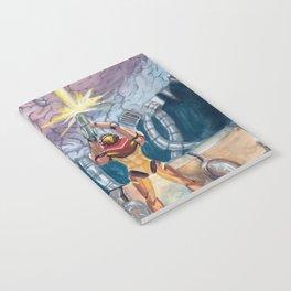 Super Metroid Fan Art Notebook
