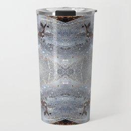 Ice Jewels and Pine Needles - Debra Cortese photo art Travel Mug