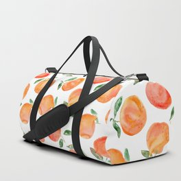 Watercolor oranges Duffle Bag