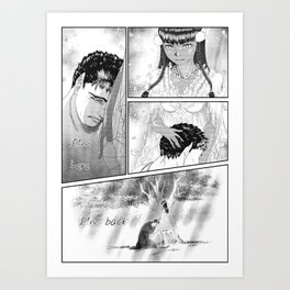 Casca is back fanart Art Print