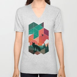 Natural Habitat Unisex V-Neck
