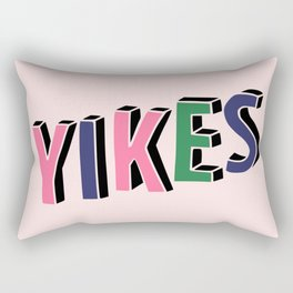 Yikes Rectangular Pillow