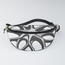 Car Wheels Chrome Fanny Pack