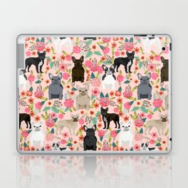 French Bulldog must have florals gifts dog breed pet lover frenchies forever Laptop & iPad Skin