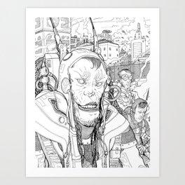 Futurist #1 Art Print