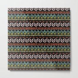 Tribal Metal Print