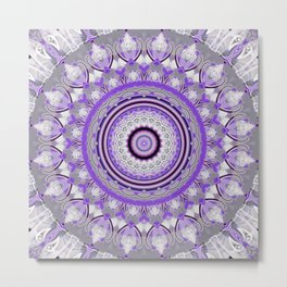 Mandala Perfection Metal Print