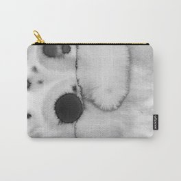 Black ink holes - in a watercolor based universe II Carry-All Pouch